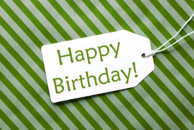 A Happy Birthday Message
