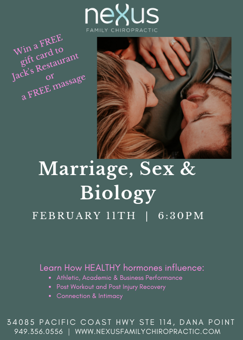 Marriage, Sex & Biology