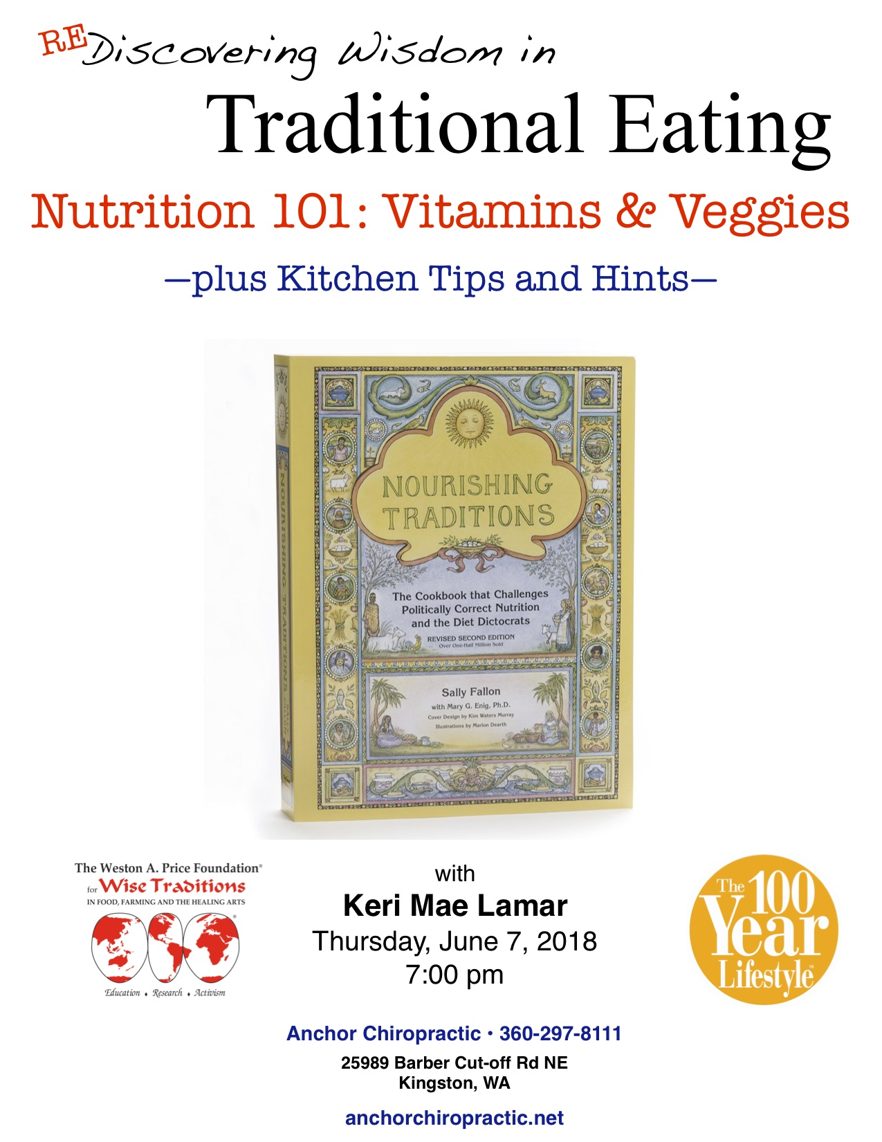 (Re)Discovering Wisdom in Traditional Eating – Vitamins & Veggies