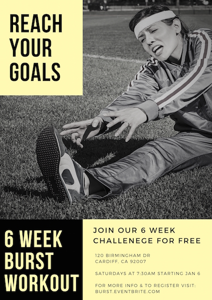 6 Week BURST Workout Challenge