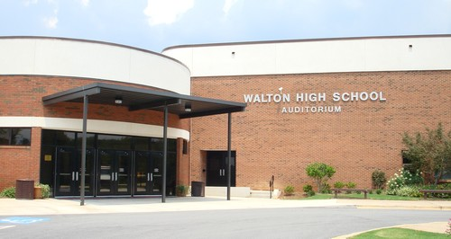 Walton High School Marietta New Building