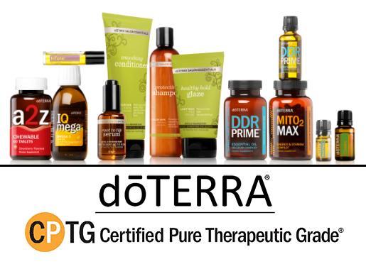 dōTERRA Essential Oils for a Healthier Lifestyle!