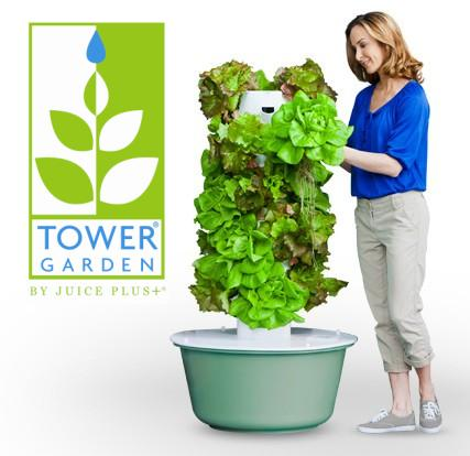 Grow Your Good Health with Tower Garden by Juice Plus+