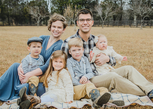 Jacob&Katy P and family